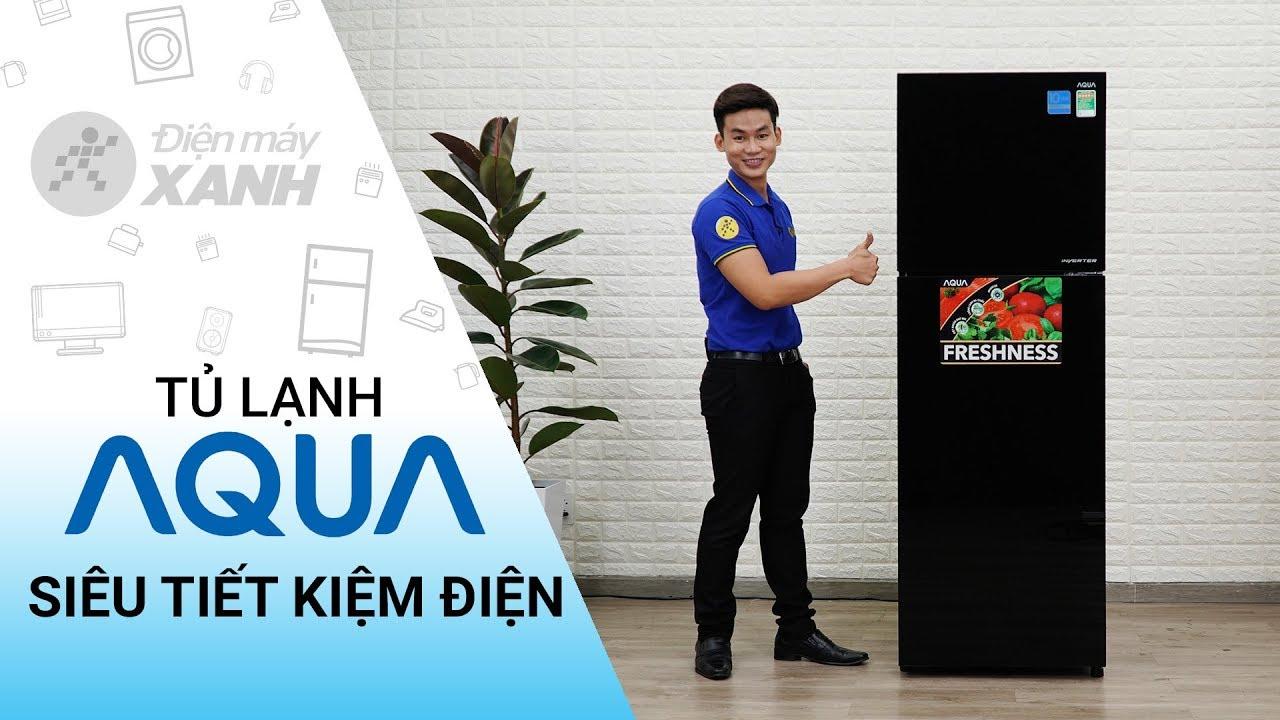 Tủ lạnh Aqua Inverter 345 lít AQR-IG356DN GBN – Siêu tiết kiệm điện | Điện máy XANH