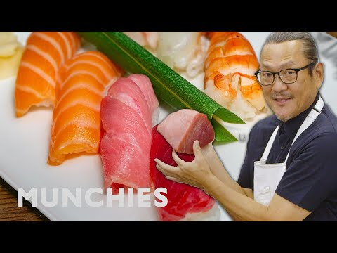Iron Chef Morimoto On How To Prepare Fish For Sushi