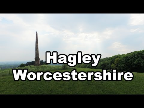 Hagley Worcestershire by Drone