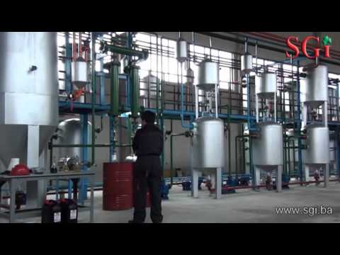SGI Technology - Recycling waste tyres into diesel...