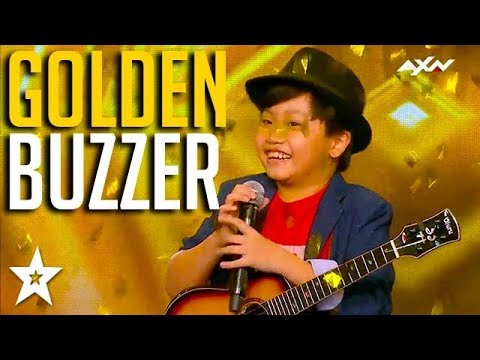 KID GUITARIST gets GOLDEN BUZZER on Asia's Got Talent 2017 | Got Talent Global