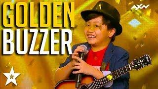 Video KID GUITARIST gets GOLDEN BUZZER on Asia's Got Talent 2017 | Got Talent Global download MP3, 3GP, MP4, WEBM, AVI, FLV Oktober 2018
