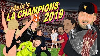 Parodia animada de la Champions League 2019