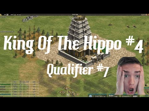 AoE2 - King Of The Hippo 4! - Qualifier #7