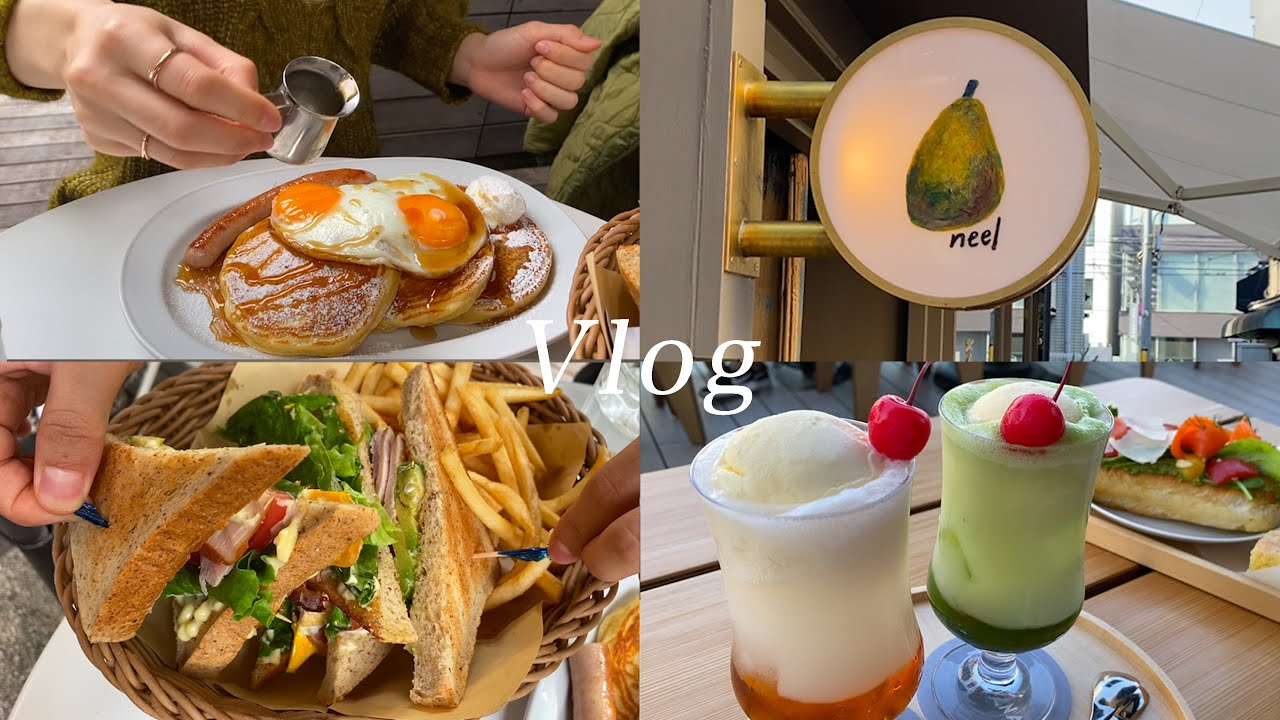 おすすめの東京カフェ7つ/原宿、表参道、穴場カフェ巡り【VLOG】