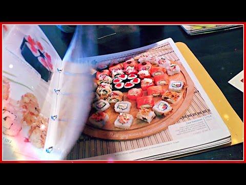 Вкусные Суши Пицца Уфа Своя компания Семья Багдасарян The restaurant Sushi Pizza Family Reality VLOG