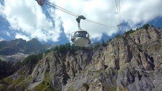 mont blanc cable car accident 08. 09. 2016 モンブラン3連テレキャビン事故2016年9月