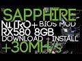 Sapphire NITRO+ RX580 8GB Hynix Bios Mod +30Mh/s Download + Install Guide!