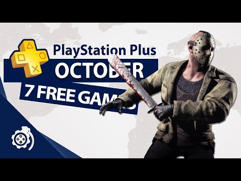 PlayStation Plus (PS+) October 2018