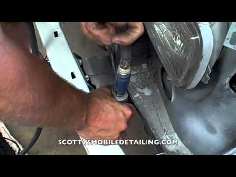 How to remove a front bumper