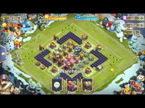 Castle Clash- Open Level 5 Talent Chest