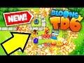 INSANE NEW BLOONS TOWER DEFENSE 6 UPDATE! *NEW* (Steam Update)