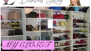 Diamondleone.com- How To Do An Ikea Closet Makeover On A Budget