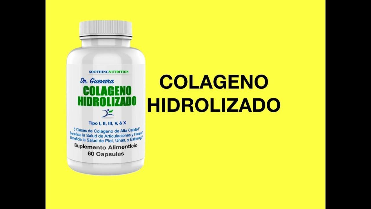 diferentes tipos de colageno hidrolisado