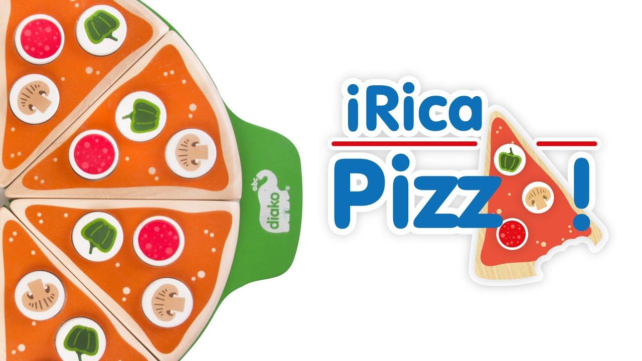 Rica Pizza Juego Para Aprender Fracciones Diako Abc Youtube