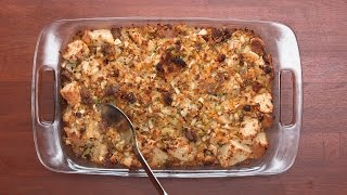 Cornbread Stuffing As Made By Tia Mowry & Cory Hardrict