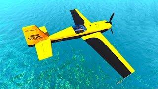 тестируем #самолеты и машины в игре BeamNG.Drive - Машинки Андре