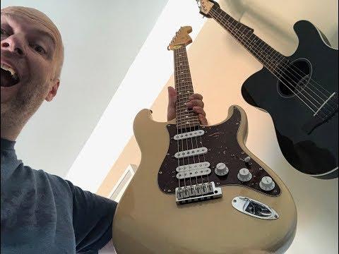 Fender Deluxe Power Stratocaster / Fishman Powerbridge / Acoustic Comparison