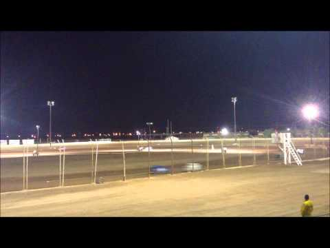 Imperial Valley Speedway Dwarf Heat Race (1) 11-16-13