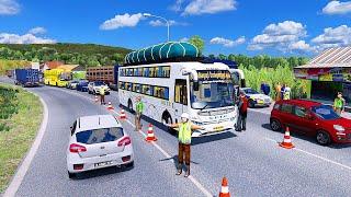 Police Checking on State Highway | SETC Bus | Prakash Vega Non Ac Sleeper Bus