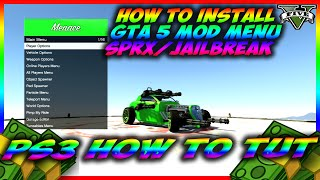 GTA 5 HOW TO INSTALL SPRX MENU'S ON A JAILBROKEN PS3 *(CFW TUTORIAL)* BY DUTCHWEEDNL88
