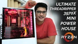 THREADRIPPER 3970X MINI POWERHOUSE PC BUILD!!! [ft. RTX 2080 Ti]