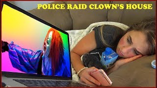 Scary Killer Clown Caught By Police While Live Streaming on YouTube