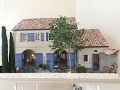 1:12 scale Provence Miniature House, architectural model