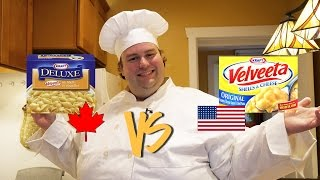 BoxMac 13: Canadian Velveeta vs. Velveeta Shells and Cheese