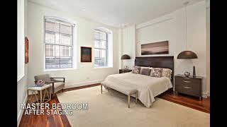 Home Staging: Manhattan - Spectacular 2B 2.5BA Loft in Tribeca!!