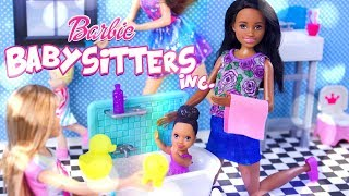 Unbox Daily:  ALL NEW Barbie Skipper Babysitters Inc Dolls & Play Sets