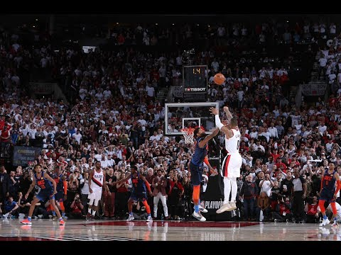 In The Zone - Twitter Reacts to Damian Lillard's Game Winner and Meme Face