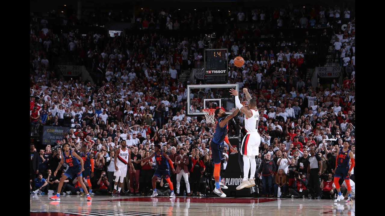 Damian Lillard Hits Insane Game Winner and Drops 50 Points in Game 5 vs. Thunder