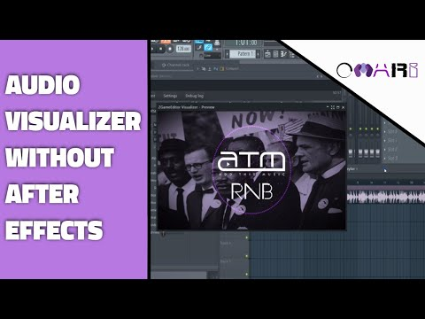 How To Create Audio Music Visualizer For YouTube Videos Free Without After Effects