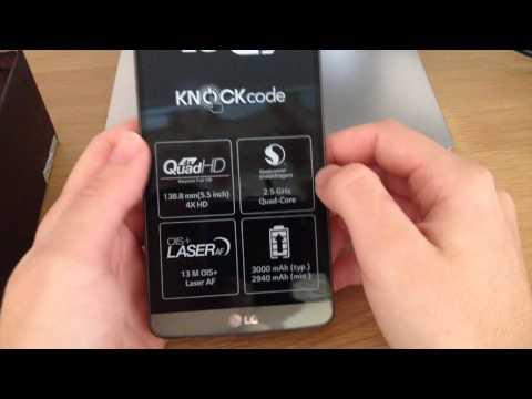 Unboxing del LG G3 (español)