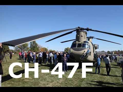 CH-47F Landing at Rockwell Collins