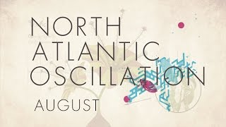 North Atlantic Oscillation - August (from The Third Day)