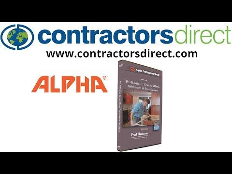 Alpha Pre-Fabricated Granite Blank Fabrication & Installation DVD