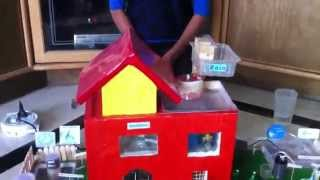 Working model for Water Conservation Student Project