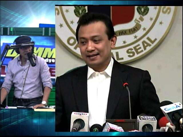Trillanes claim vs Duterte a 'rehash,' says Malacanang