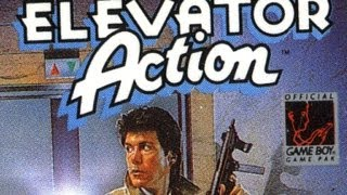 Classic Game Room - ELEVATOR ACTION review for Game Boy