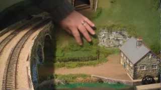 50 Shades of Green part 2.  00 gauge model railway making scenery.