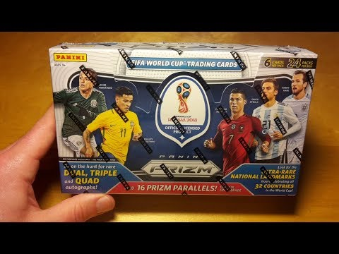 2018 Panini Prizm World Cup Soccer 12 Box Case Break and Review: Crazy Mojo Hit!!!