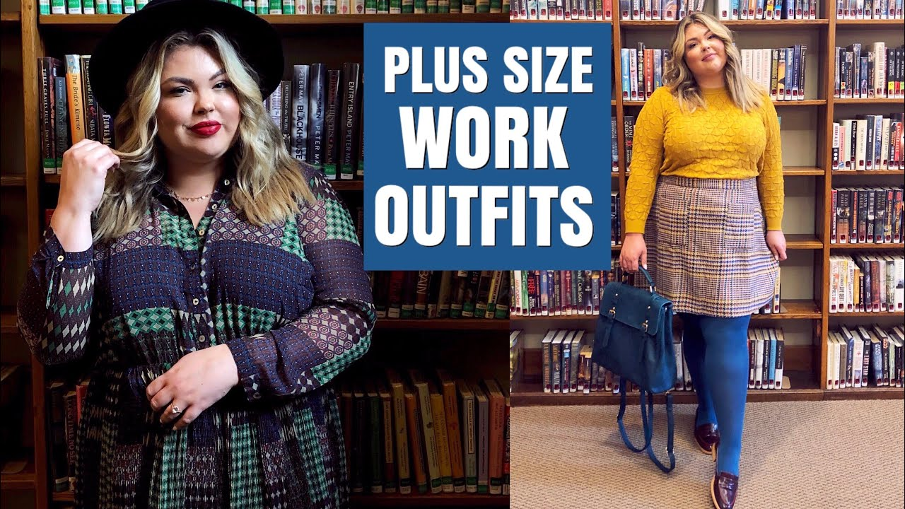 [VIDEO] - Plus Size Work Outfits // Fall Lookbook | LearningToBeFearless 5