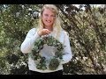 Make a Frost-Hardy Succulent Wreath with Hens-and-Chicks