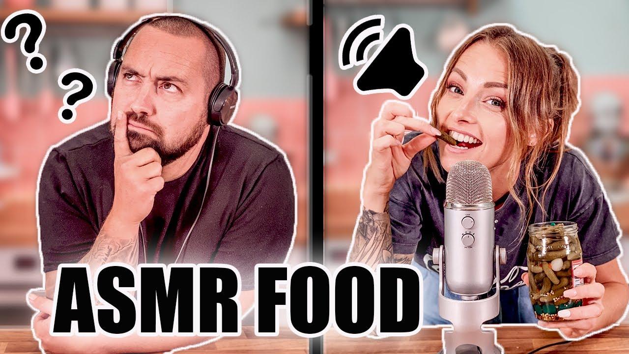ASMR FOOD CHALLENGE ! ( ça triche sévère !)