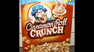 Cap'n Crunch's Cinnamon Roll Crunch Review