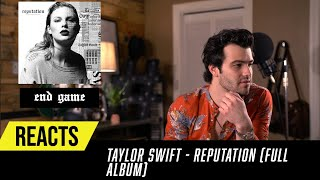 Producer Reacts to ENTIRE Taylor Swift Album - Reputation