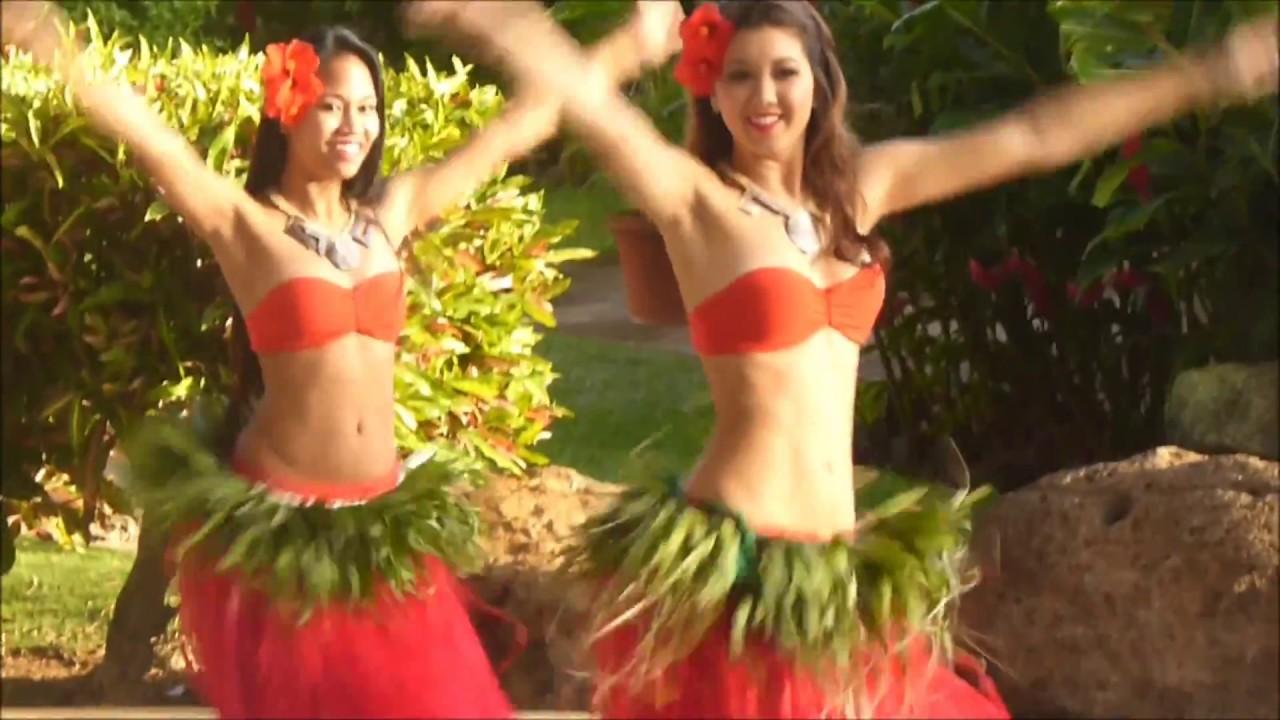 Hula Girl Wallpaper Tahitian Hula Dancers In Poipu Kauai Youtube