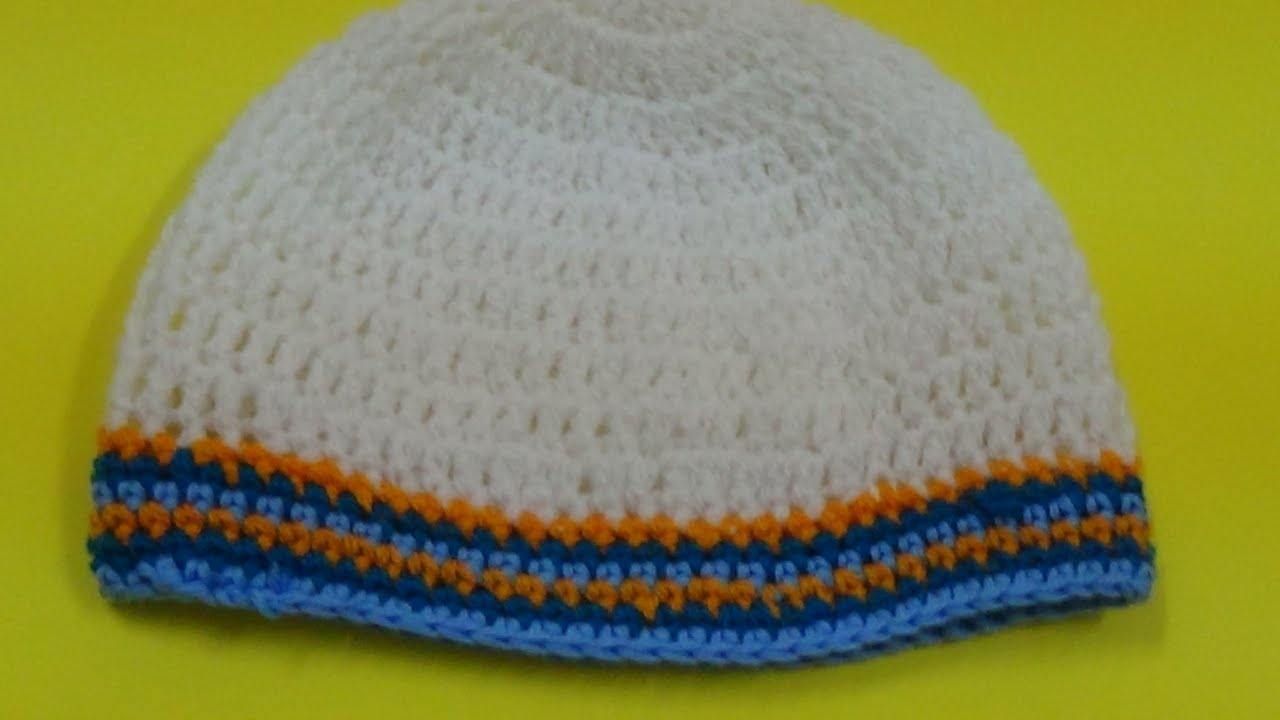 Very easy crochet prayer cap youtube bankloansurffo Choice Image